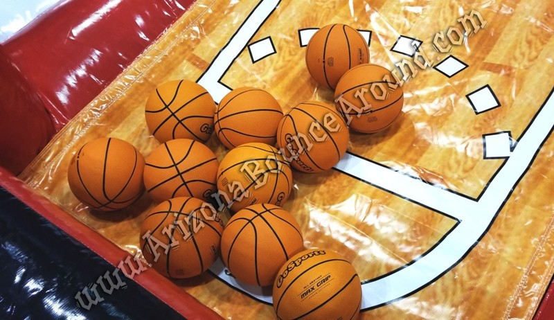 Inflatable Basketball Game Rental Phoenix Arizona