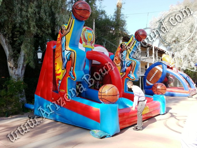 Inflatable Basketball Game Rental for kids Phoenix, Scottsdale, Tempe, AZ