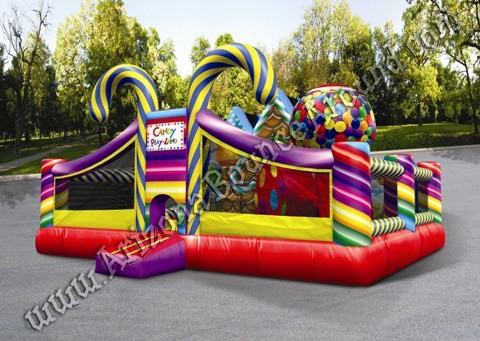 Inflatable Candy Land Playland Rental Phoenix