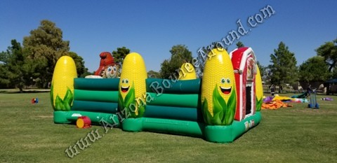 Inflatable Corn Maze Rentals in Phoenix Arizona