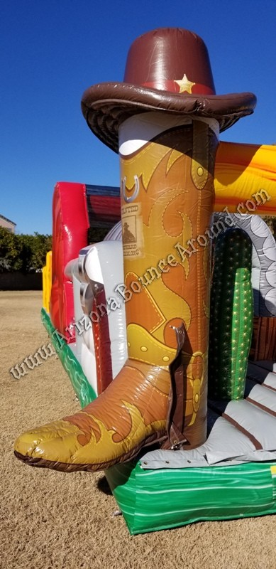Inflatable Cowboy Boot rentals Phoenix Arizona
