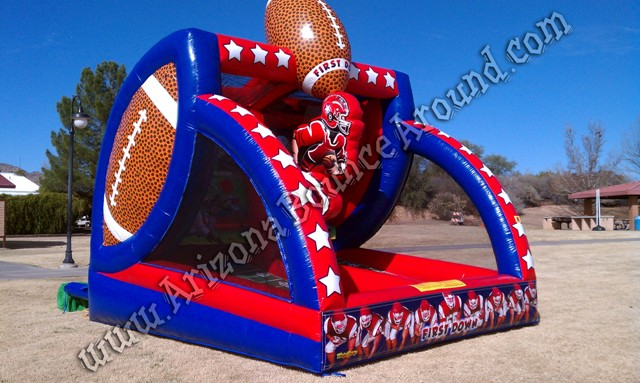 Inflatable Football Throw game Rental AZ