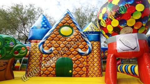 Inflatable Gingerbread House Rental Phoenix Arizona