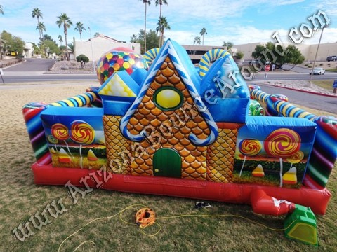 Inflatable Gingerbread House Rentals in Phoenix Arizona