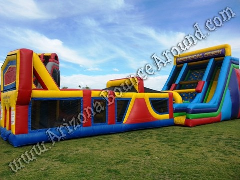 Inflatable Obstacle Course for team building