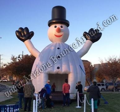Inflatable Snowman Bounce House Rental Phoenix Arizona