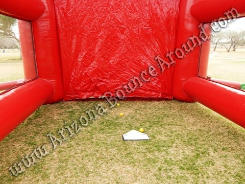 Inflatable batting cage rental Chandler, Arizona