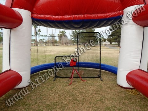 Inflatable batting cage rental Peoria, Arizona