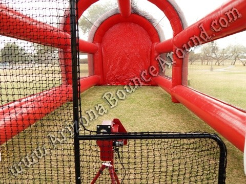 Inflatable batting cage rental Phoenix, Arizona