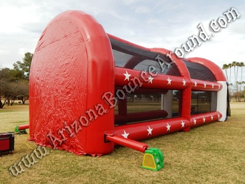 Inflatable batting cage rental Tempe, Arizona