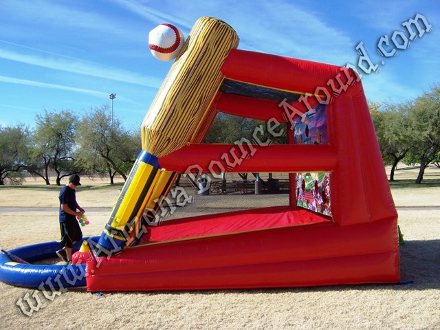 Inflatable batting game rental Phoenix Arizona CA