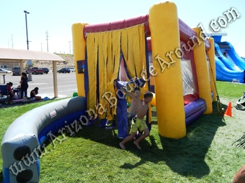 Inflatable car wash game rental Phoenix
