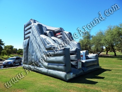 Inflatable cliff jump slide rental