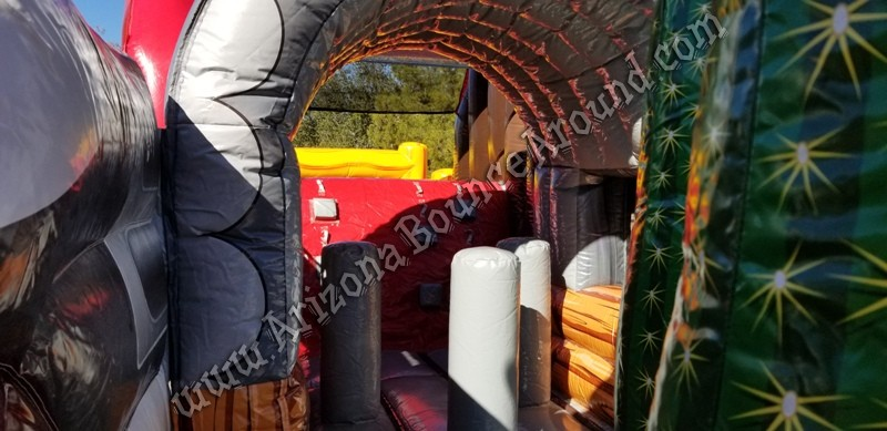 Inflatable covered waggon rental Phoenix Arizona