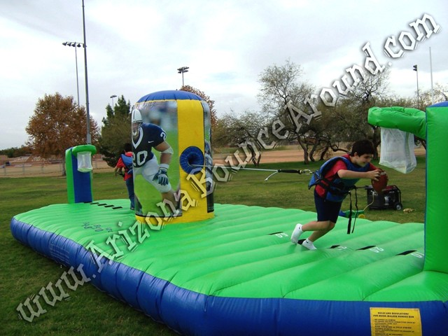 Inflatable footbal game rentals Arizona