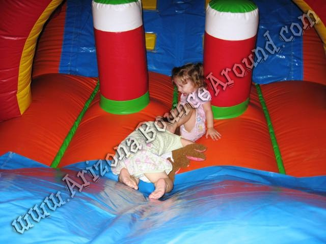 Inflatable obstacle course for children in Phoenix Scottsdale Arizona