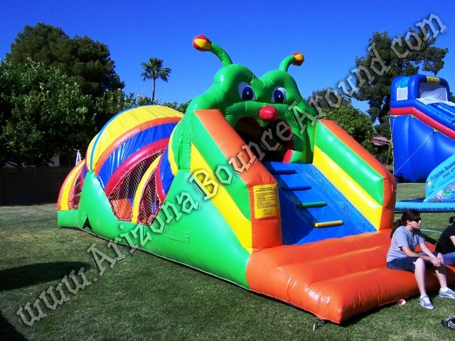 Inflatable obstacle course for kids Phoenix Scottsdale AZ