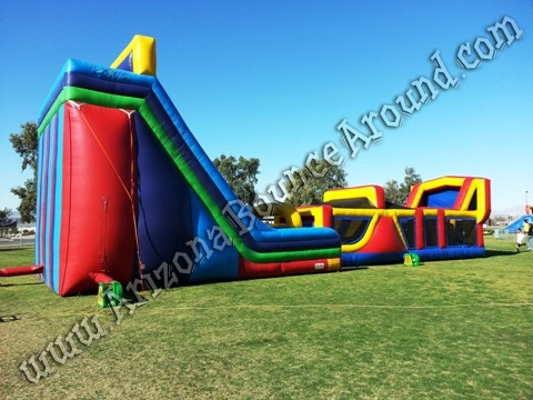 Inflatable Obstacle Course Rental Arizona