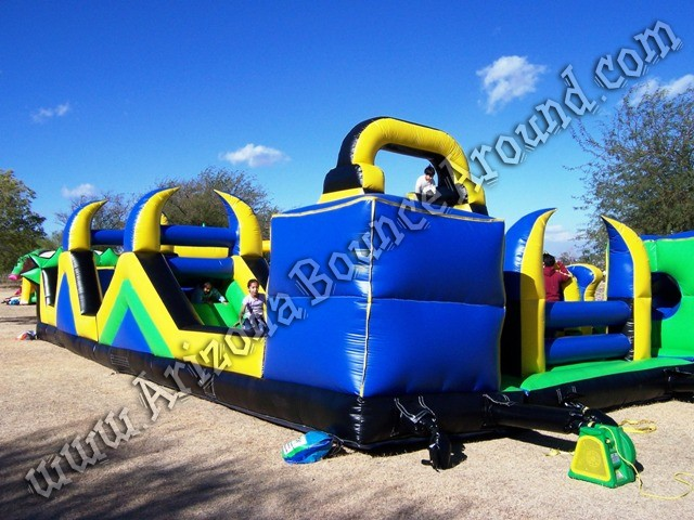 Inflatable obstacle course rental Phoenix Arizona