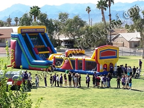 Inflatable obstacle course rental, Scottsdale Arizona