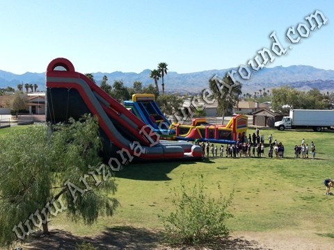 Inflatable obstacle course rental, Tempe, Arizona