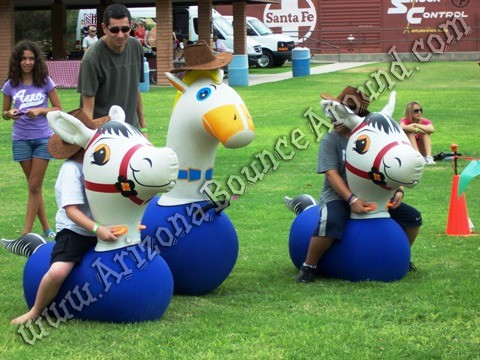 Inflatable pony hop rental Phoenix Arizona