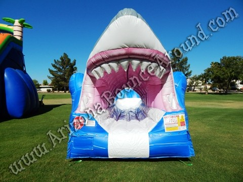 Inflatable shark for rent in Phoenix Arizona
