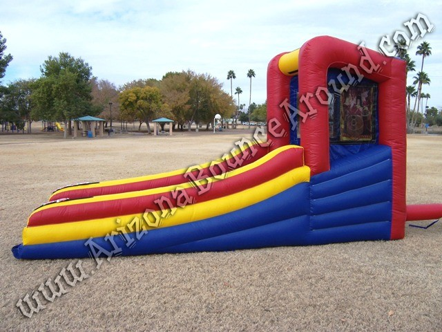Inflatable skee ball game rental Phoenix Scottsdale Arizona
