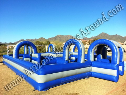 Inflatable water tag maze rental Phoenix Arizona