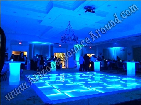 LED Dance Floors for rent