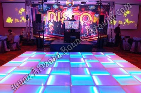LED Dance floors for rent in Phoenix Arizona for special events