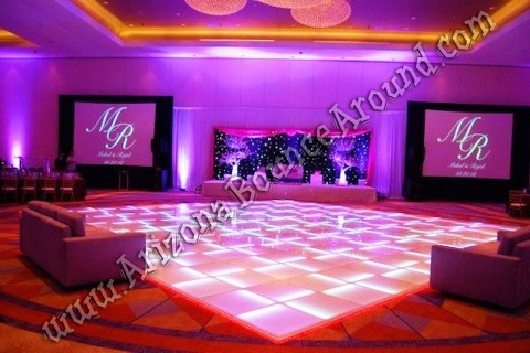 LED dance floor rental Tempe Arizona