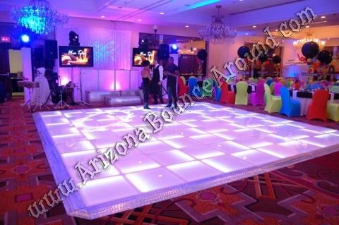LED dance floors for special events in Phoenix Arizona