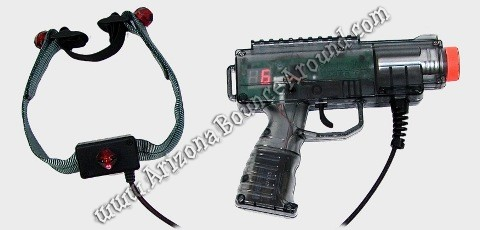 Laser Tag Guns for rent in Scottsdale
