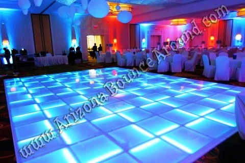 Light up dance floor rental Phoenix AZ
