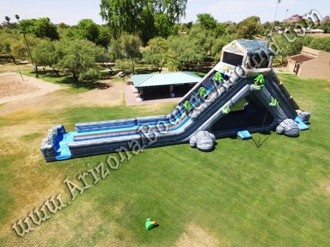 Log Flume water slide rentals Phoenix Arizona