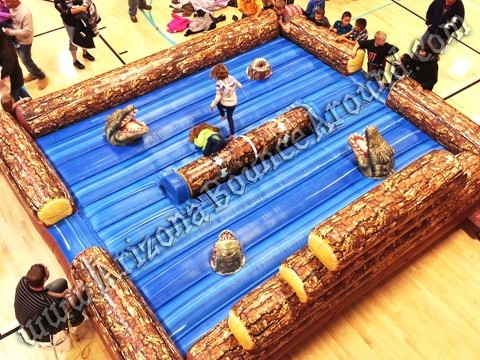 Log rolling competition games for rent Arizona