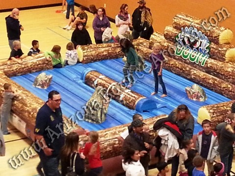 Log rolling competition games for rent Scottsdale AZ