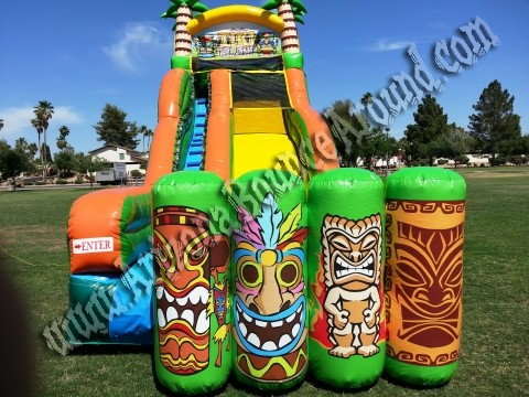 Luau water slide rental phoenix az