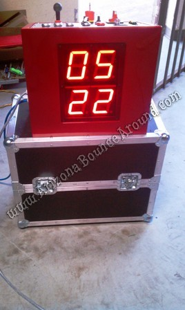 Mechanical Bull LED Timer Clock