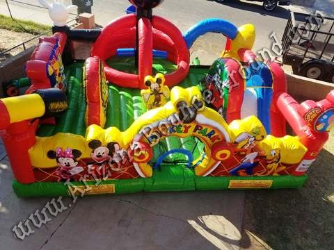 Mickey Mouse Inflatable Playland Rental Phoenix, Denver Colorado
