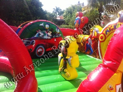Mickey Mouse Playland Inflatables for birthday parties Phoenix, Denver