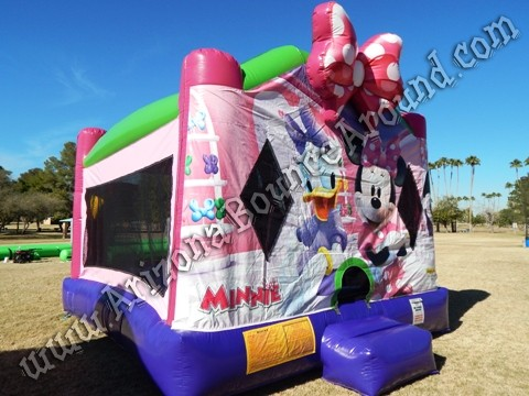 Minnie Mouse Bounce House Rentals in Phoenix