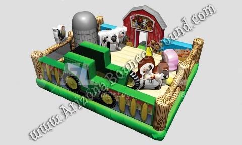 Farm Animals Themed Bounce House Rental Phoenix