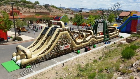 Obstacle course rental for company picinics Phoenix