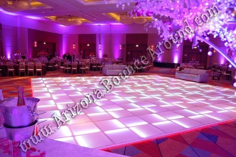 Phoenix LED dance floor rentals