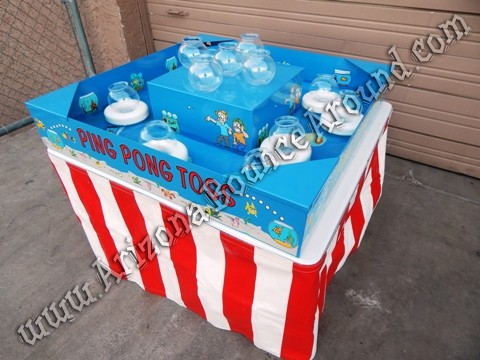 Fish Bowl Carnival Game Rentals Ping Pong Toss Carnival