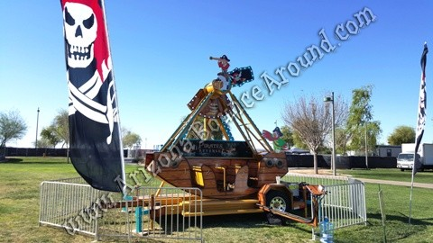 Pirate Ship rides for rent in Arizona