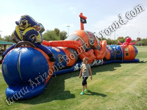Pirate themed inflatable rental in Scottsdale