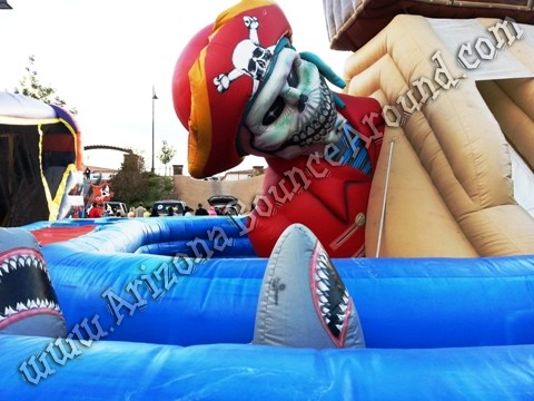 Pirate themed inflatable rentals Scottsdale